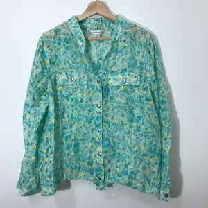 3/$25 Christopher & Banks button down blouse